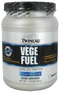 Twinlab - Vege Fuel Unflavored - 1.18 lbs. by Twinlab