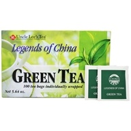 Uncle Lee's Tea - Legends Of China Green Tea - 100 Tea Bags (049606100042)