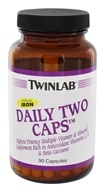 Twinlab - Daily Two Caps Multivitamin & Mineral without Iron - 90 Capsules