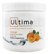Ultima Health Products - Ultima Replenisher Drink 30 Servings Orange - 4.6 oz.