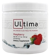 Ultima Health Products - Ultima Replenisher Drink 30 Servings Red Raspberry - 4.7 oz. (formerly Wild Raspberry) (853210333327)