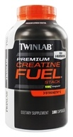 Twinlab - Creatine Fuel Stack Performance Enhancer - 180 Capsules (027434014250)