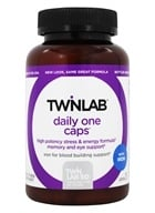 Twinlab - Daily One Caps Multivitamin & Mineral with Iron - 180 Capsules (027434002851)