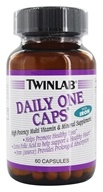 Image of Twinlab - Daily One Caps Multivitamin & Mineral with Iron - 60 Capsules