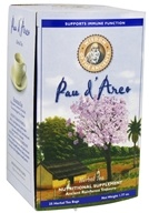 Image of Wisdom of the Ancients - Pau d'Arco (Purple Lapacho) Herbal Tea Bags - 25 Tea Bags