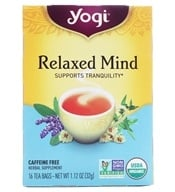 Yogi Tea - Relaxed Mind Tea - 16 Tea Bags Formerly Meditative Time - $2.99