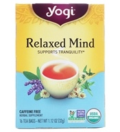 Yogi Tea - Relaxed Mind Tea - 16 Tea Bags Formerly Meditative Time, from category: Teas