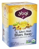 Yogi Tea - Saint John's Wort Blues Away Tea with Organic Lavender ...