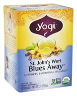 Yogi Tea - Saint John's Wort Blues Away Tea Organic Caffeine Free - 16 Tea Bags (076950450325)