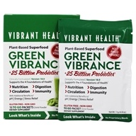 Vibrant Health - Green Vibrance Version 14.0 - 15 Packet(s)