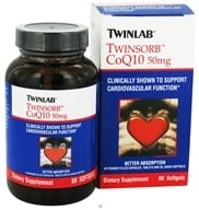 Twinlab - Twinsorb CoQ10 50 mg. - 60 Softgels