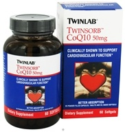 Twinlab - Twinsorb CoQ10 50 mg. - 60 Softgels, from category: Nutritional Supplements