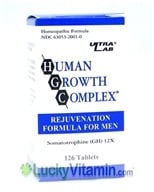 Ultra Lab Nutrition - Human Growth Complex For Men - 126 Tablets - $28.49