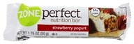Zone Perfect - All-Natural Fruitified Nutrition Bar Strawberry Yogurt - 1.76 oz. by Zone Perfect