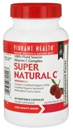 Vibrant Health - Super Natural C Version 3.1 - 60 Vegetarian Capsules - $21.19