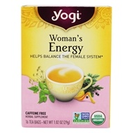Yogi Tea - Woman's Energy Tea with Organic Nettle Leaf - 16 Tea Bags Formerly Woman's Dong Quai Tonic