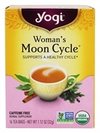Image of Yogi Tea - Woman's Moon Cycle Organic Tea Caffeine Free Healing Formula - 16 Tea Bags