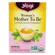 Yogi Tea - Woman's Mother To Be Pregnancy Support Organic Healing Formula - 16 Tea Bags formerly Nursing Mom, from category: Teas