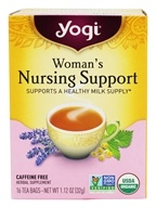 Image of Yogi Tea - Woman's Nursing Support Tea Caffeine Free - 16 Tea Bags formerly Woman's Nursing Mom