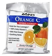 Zand - Herbalozenge Orange C with Vitamin C Orange Flavor - 15 Lozenges, from category: Health Foods