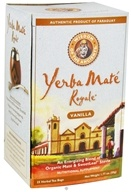 Image of Wisdom of the Ancients - Yerba Mate Royale Tea Bags Vanilla - 25 Tea Bags