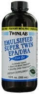 Twinlab - Emulsified Super Twin EPA/DHA Fish Oil Mint - 12 oz. CLEARANCE PRICED (027434012140)