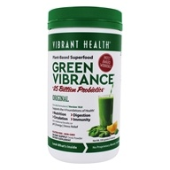 Vibrant Health - Green Vibrance Version 10.2 Concentrated Superfood - 12.7 oz.