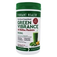 Santé vibrante - Version verte Superfood 14.0 quotidien de Vibrance - 12.8 once.