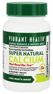 Vibrant Health - Super Natural Calcium - 60 Vegetarian Tablets (formerly Hydrilla Verticillata, Phyto-Calcium & More), from category: Vitamins & Minerals