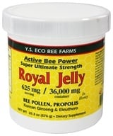 Image of YS Organic Bee Farms - Alive Bee Power Royal Jelly Paste 625 mg. - 20.3 oz.