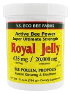YS Organic Bee Farms - Alive Bee Power Royal Jelly Paste 20000 mg. - 11.5 oz.