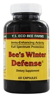 YS Organic Bee Farms - Bee's Winter Defense - 60 Capsules (726635979794)