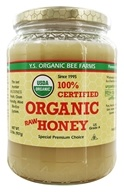 Image of YS Organic Bee Farms - Certified Organic Honey 100% - 2 lbs.