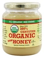 YS Organic Bee Farms - Certified Organic Honey 100% - 16 oz. (726635121278)