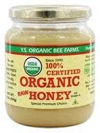 YS Organic Bee Farms - Certified Organic Honey 100% - 16 oz.