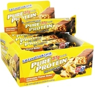 Pure Protein - High Protein Bar Chocolate Peanut Butter - 2.75 oz., from category: Sports Nutrition