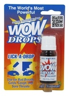 Wow - Lick A Drops - 0.34 oz. Formerly Peppermint Breath Freshener by Wow