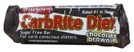 Universal Nutrition - Doctor's CarbRite Diet Bar Chocolate Brownie - 2 oz. (039442081124)