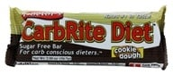 Universal Nutrition - Doctor's CarbRite Diet Bar Cookie Dough - 2 oz. (039442081865)