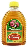 YS Organic Bee Farms - Clover Honey Pure Premium - 32 oz.