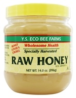YS Organic Bee Farms - Raw Honey - 14 oz. by YS Organic Bee Farms
