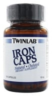 Twinlab - Iron Caps Natural Chelated 18 mg. - 100 Capsules (027434010184)