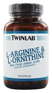 Twinlab - L-Arginine & L-Ornithine Free Form Amino Acids - 100 Capsules, from category: Nutritional Supplements
