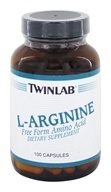 Twinlab - L-Arginine Free Form Amino Acid 500 mg. - 100 Capsules, from category: Sports Nutrition