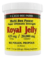 YS Organic Bee Farms - Multi Bee Power Royal Jelly 625 mg. - 11.5 oz. - $11.07
