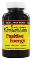YS Organic Bee Farms - Positive Energy - 75 Capsules (726635163445)