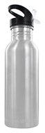 Image of New Wave Enviro Products - Stainless Steel Water Bottle Brushed Stainless Steel - 20 oz.