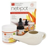 Himalayan Institute - Neti Pot Porcelain Sinus Cleansing System