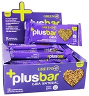 Greens Plus - +Plusbar Chia Natural Flavor Natural Flavor - 2 oz.