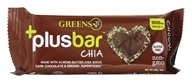 Greens Plus - Chia Chocolate Flavor Bar Chocolate - 2 oz.